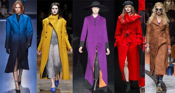 Желтое женское пальто 2018