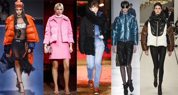 Розовая дутая куртка 2018