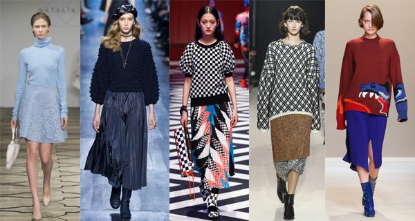 Модные женские свитера 2018