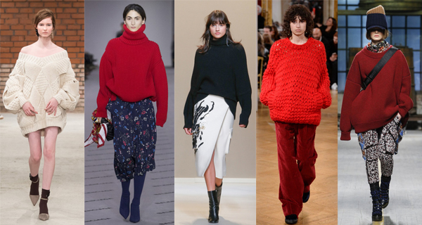 Безразмерные женские свитера 2018