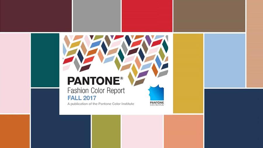 Модная палитра цветов осень 2017 зима 2018