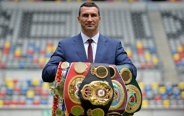 Владимир Кличко завершил спортивную карьеру