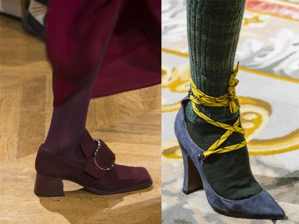 Черные замшевые туфли 2017