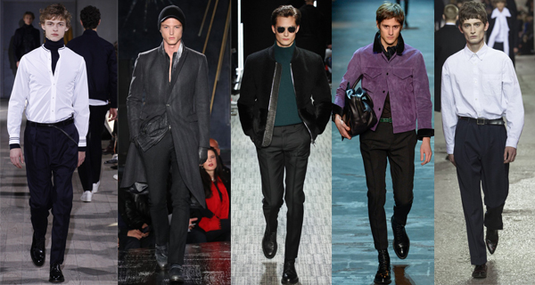 Прямые мужские брюки 2018