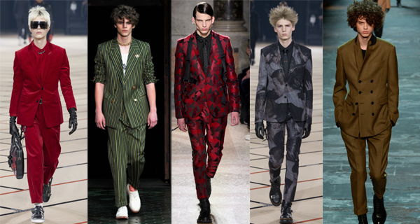 Модные мужские костюмы 2018