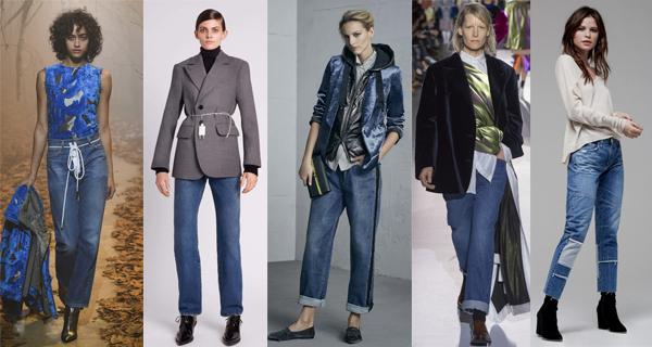 Прямые женские джинсы 2018