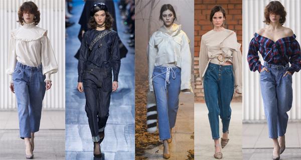 Короткие женские джинсы 2018