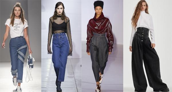 Женские джинсы с высокой талией 2018