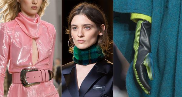 Модные женские аксессуары осень-зима 2017-2018