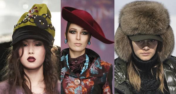 Модные женские головные уборы осень-зима 2017-2018