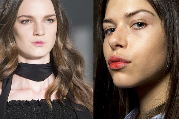 Модный макияж губ осень-зима 2017-2018