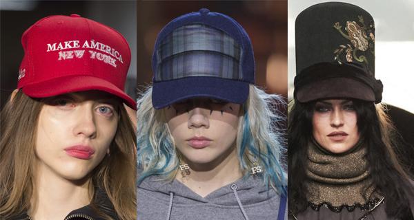 Красная женская кепка 2018