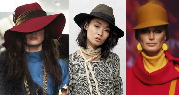 Красная фетровая шляпа