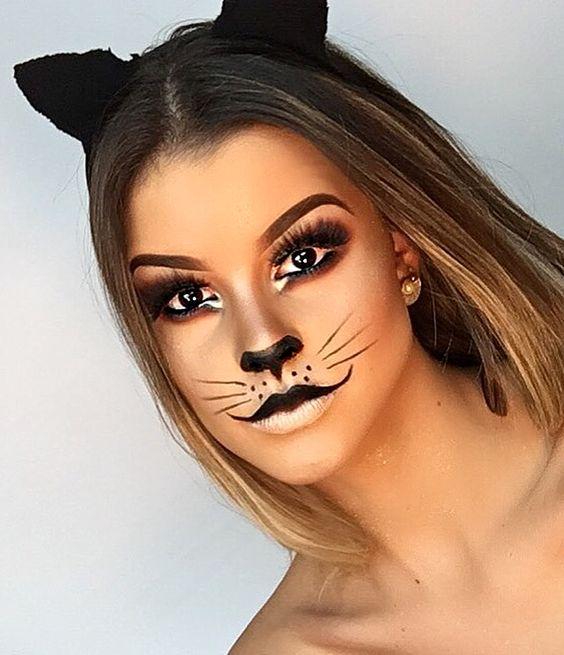 Образ кошечки к Хэллоуину