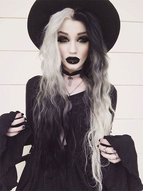 Макияж для ведьмы на Хэллоуин