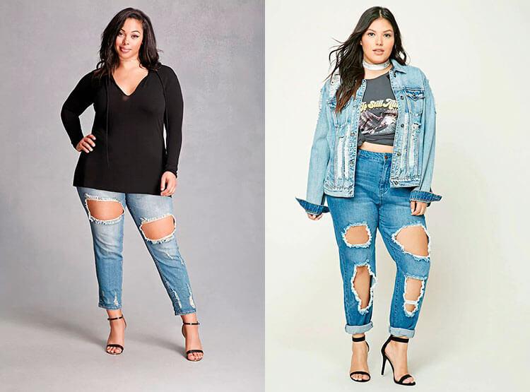 Рваные джинсы 2018