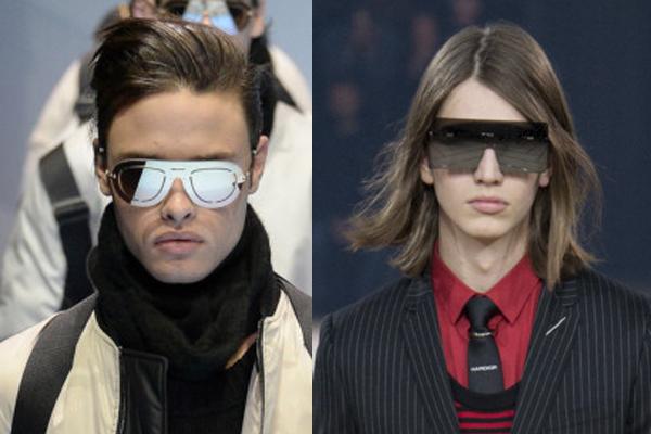мужские солнцезащитные очки без оправы