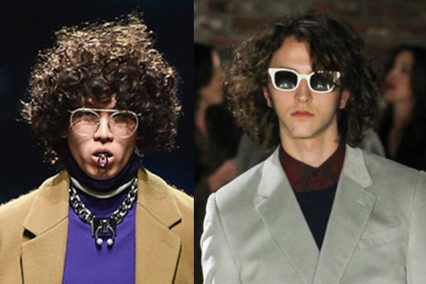 Мужские солнцезащитные очки в белой оправе