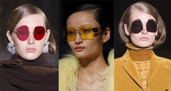 Женские солнцезащитные очки без оправы 2018