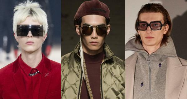 Квадратные мужские солнцезащитные очки