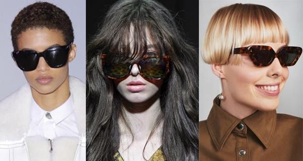 Модные женские солнцезащитные очки в леопардовой оправе 2018