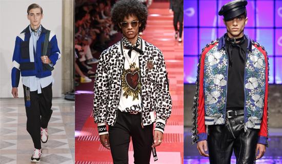 Модные мужские куртки весна-лето 2018