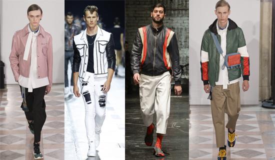 Модные мужские кожанки 2018