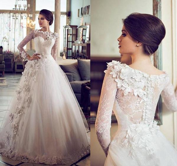 Пышное свадебное платье 2018