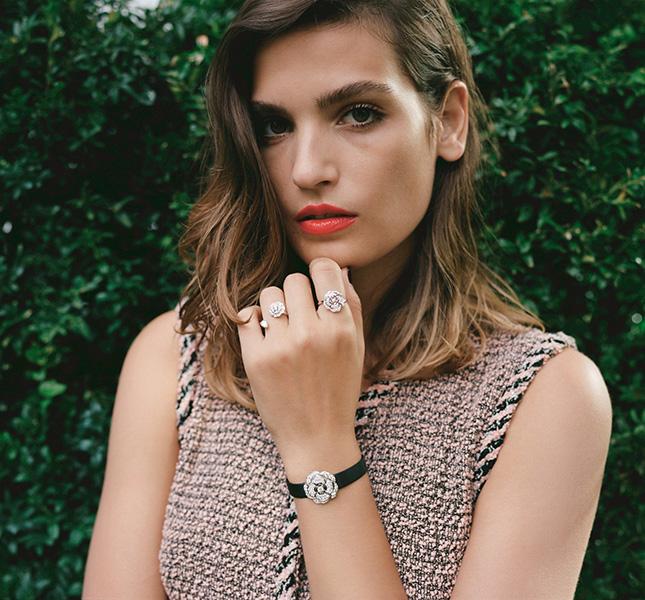 Браслет и кольца Chanel 2018