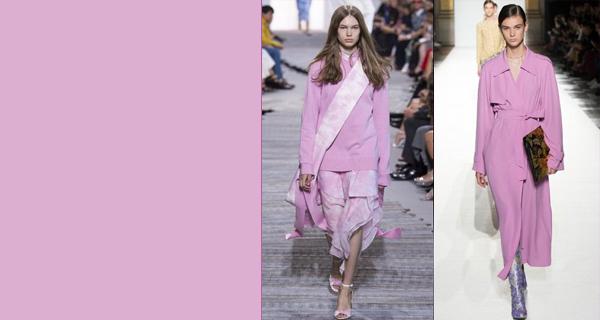 Модный розовый цвет 2018