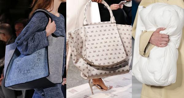 Большая белая сумка 2018
