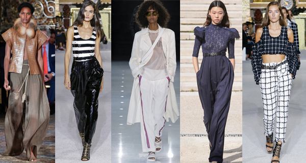 Светлые женские брюки