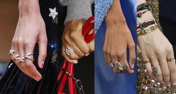 Простые женские кольца