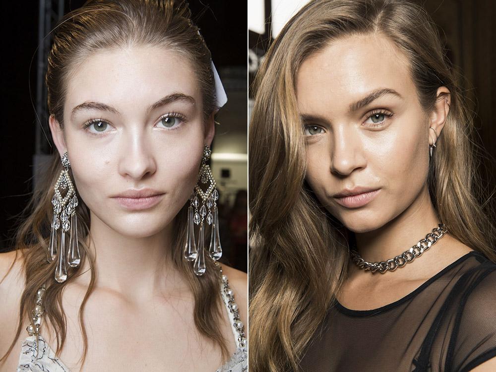 Нюдовый макияж 2018