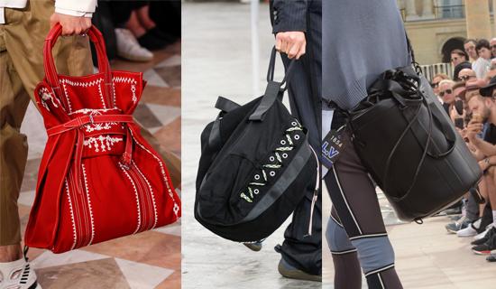 Красная мужская сумка