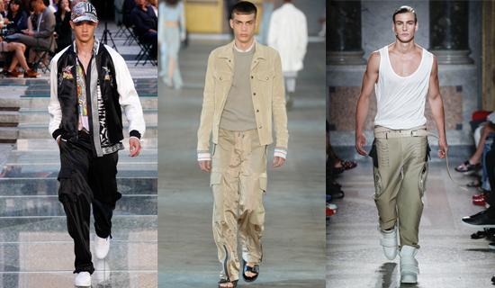 Мужские штаны с карманами