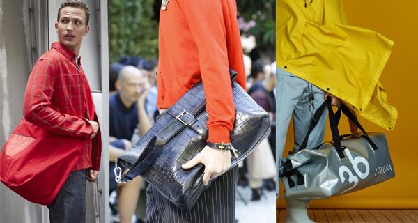 Модные мужские сумки весна-лето 2018