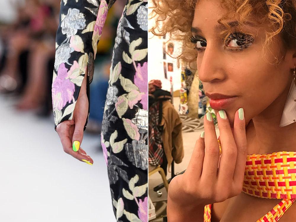 Модные цвета лаков для ногтей весна-лето 2018