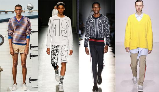 Мужские свитера весна 2018