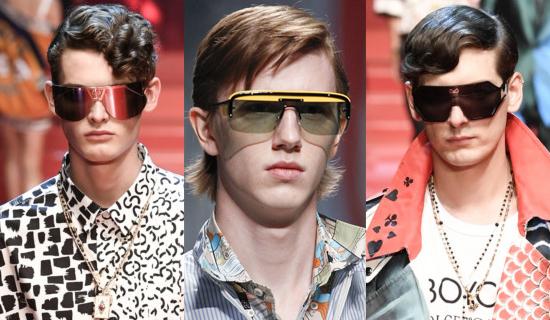 Большие мужские солнцезащитные очки 2018