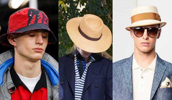 Мужская шляпа 2018