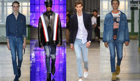 летние прямые мужские джинсы
