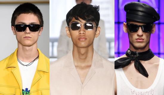 Мужские квадратные очки