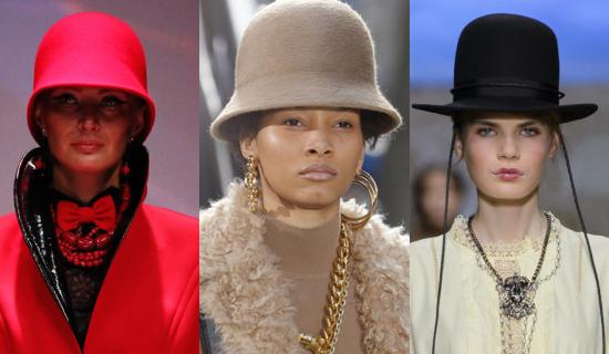 Красный котелок шляпа