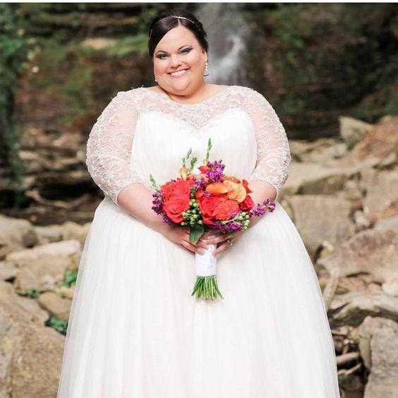 Свадебное платье с кружевными длинными рукавами lkz gjkys[