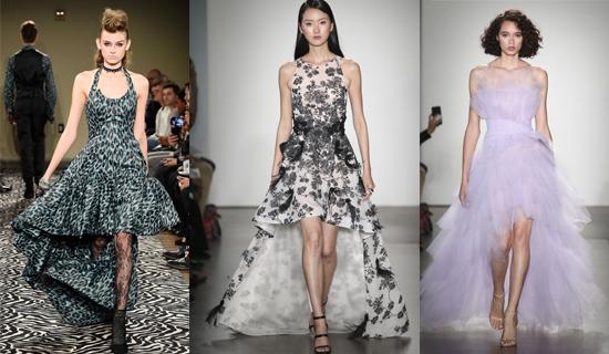 Выпускное платье с цветочным принтом