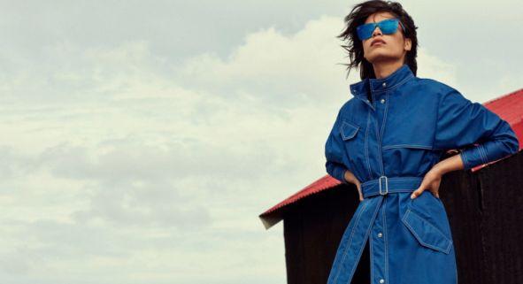 Солнцезащитные очки с синими стеклами