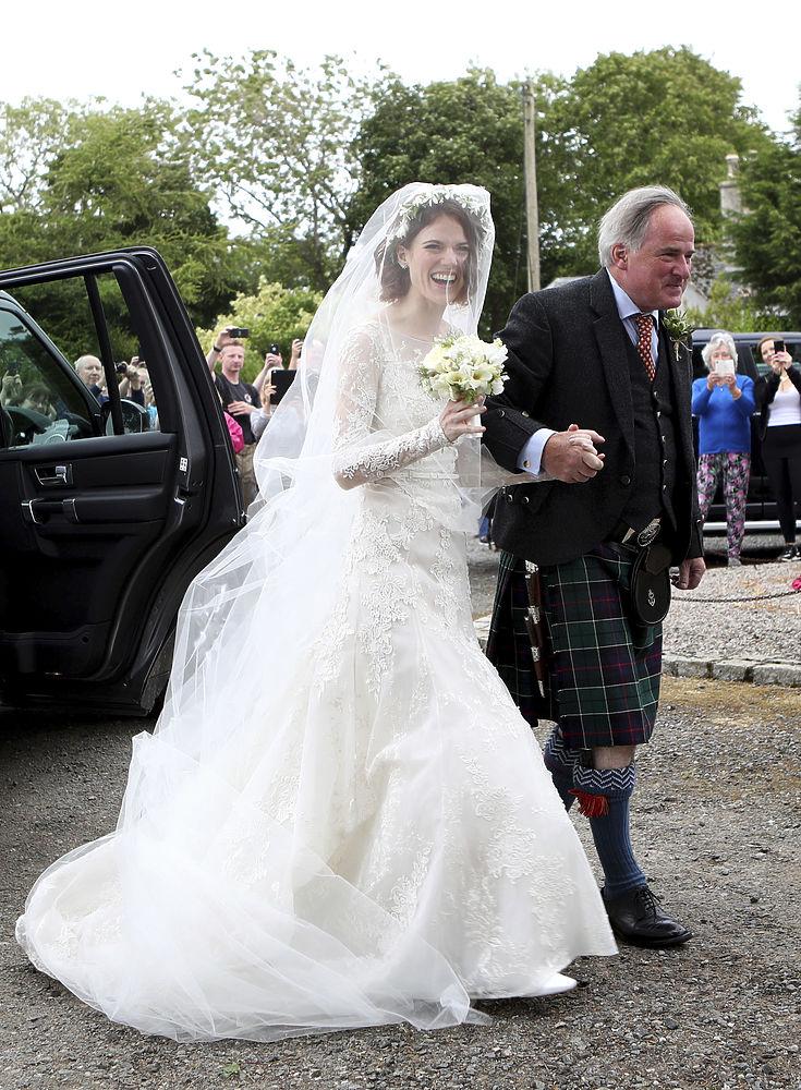 Свадебное платье Роуз Лесли
