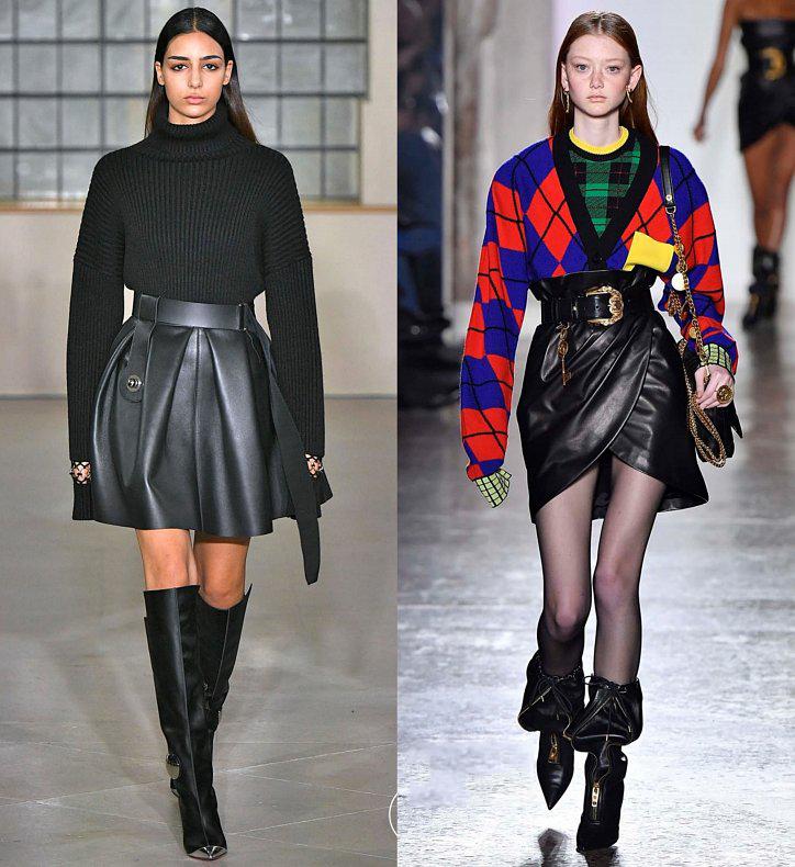 кожаная мода 2019