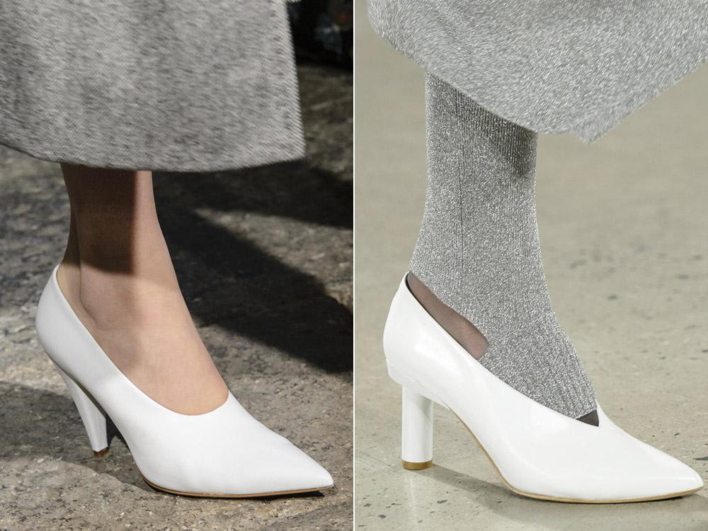 Белые туфли Max Mara